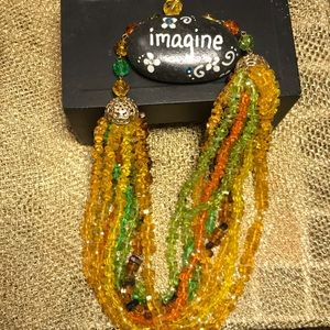 Jewelry - Multi-colored beaded necklace